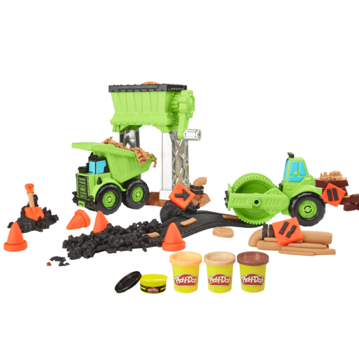 Play-Doh Wheels - Gravel Yard Construction Set