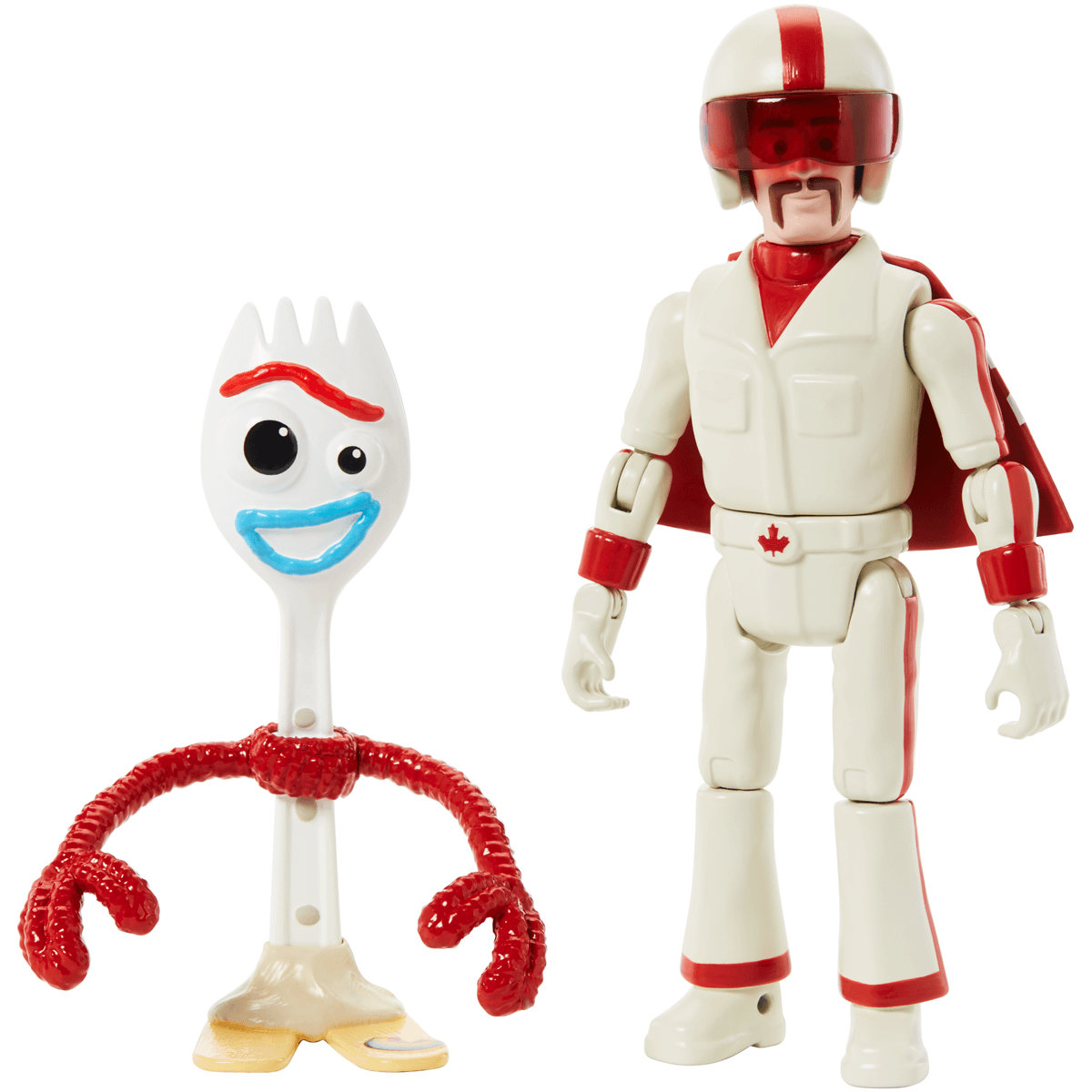 Disney Pixar Toy Story 4 17 cm Figure - Forky and Duke Caboom