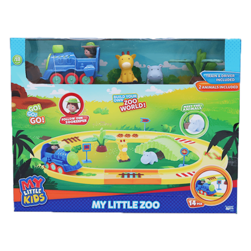 My Little Zoo Train Playset