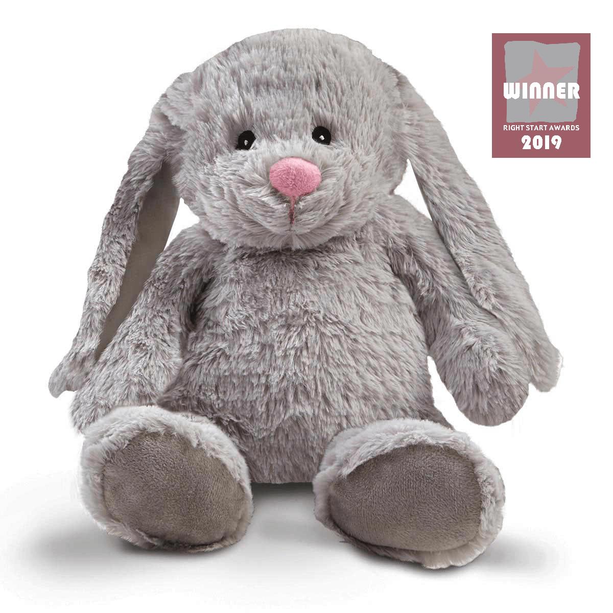 Snuggle Buddies Friendship Bunny - Grey