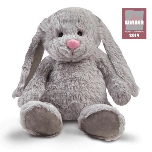 Snuggle Buddies Friendship Bunny - Grey