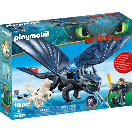Playmobil DreamWorks Dragons Hiccup and Toothless - 70037