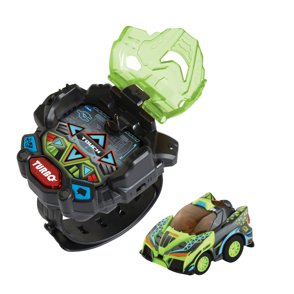 VTech Turbo Force Racers - Green from Early Learning Center