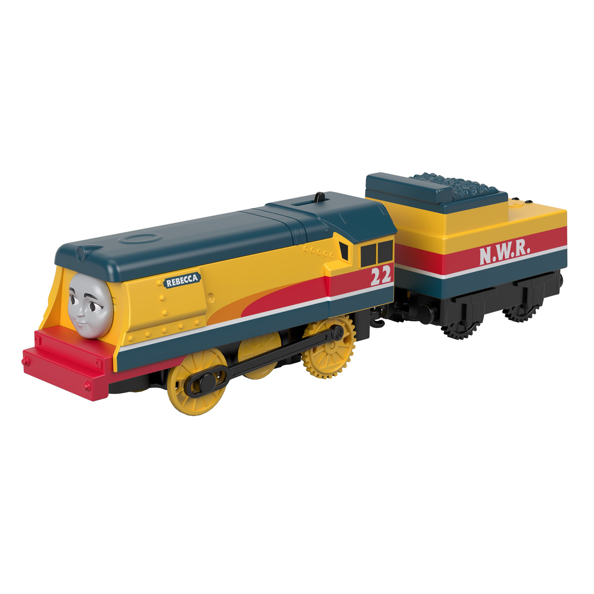 Fisher-Price Thomas & Friends TrackMaster Push Along Train - Motorised Rebecca