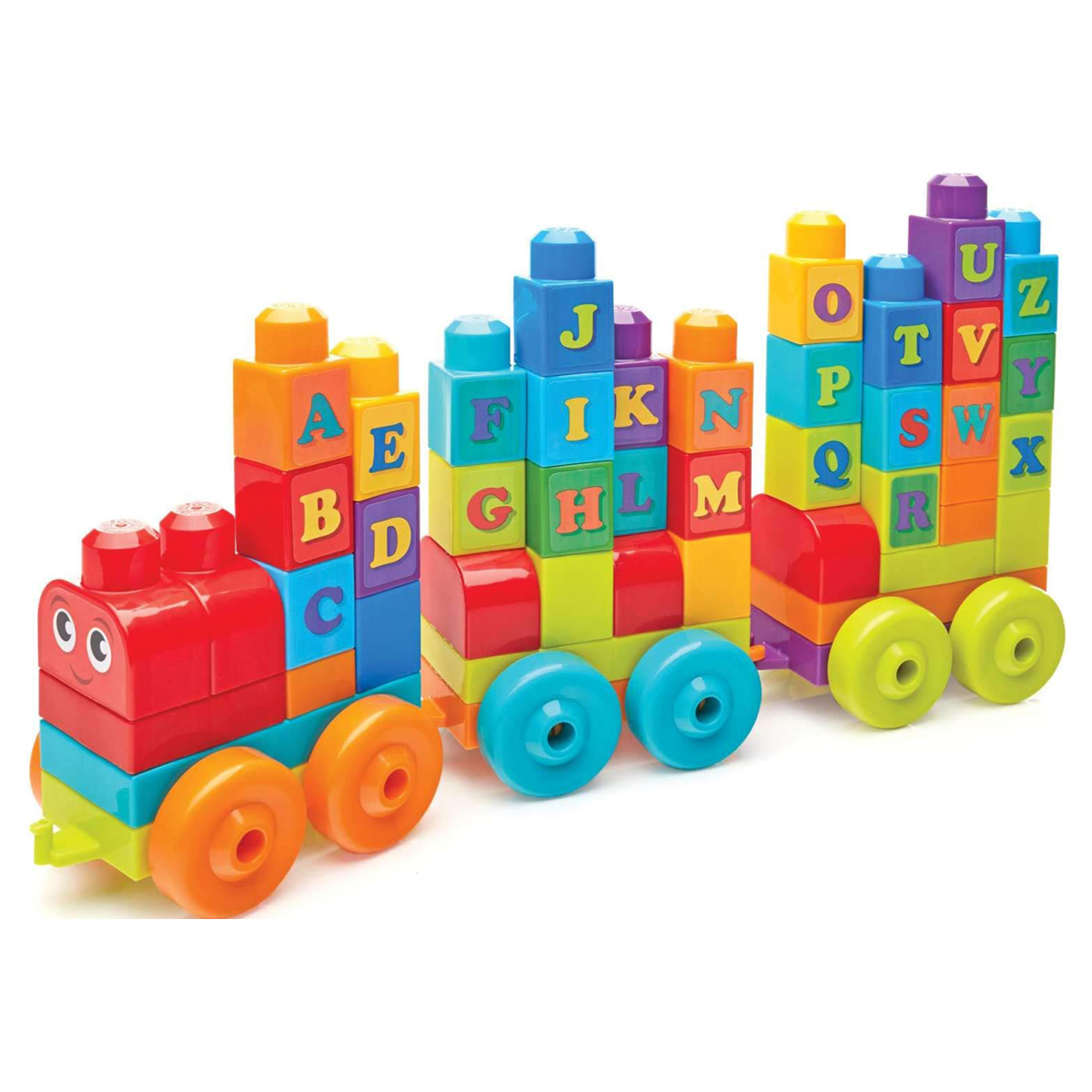 Mega Bloks First Builders Alphabet Train - 60 Pieces from Early Learning Center