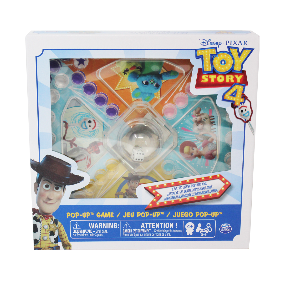 Disney Pixar Toy Story 4 Pop-Up Game from Early Learning Center