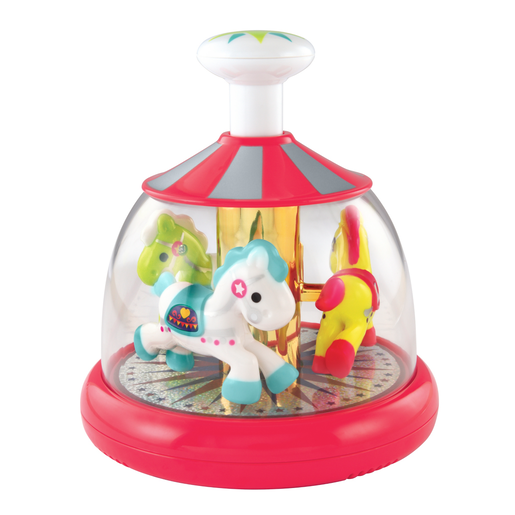 Early Learning Centre Push and Spin Carousel