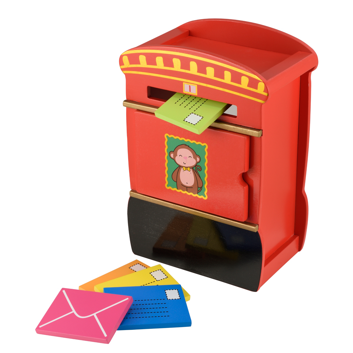 Early Learning Centre Wooden Post Box