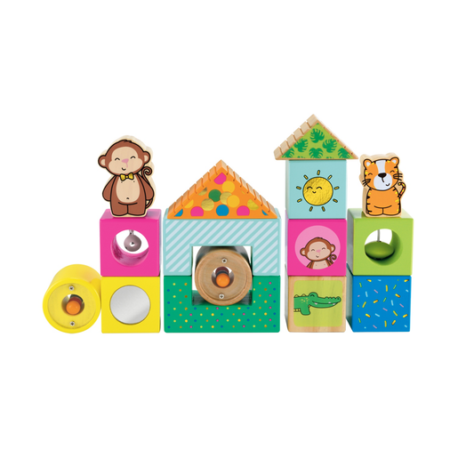 Early Learning Centre Wooden Activity Bricks