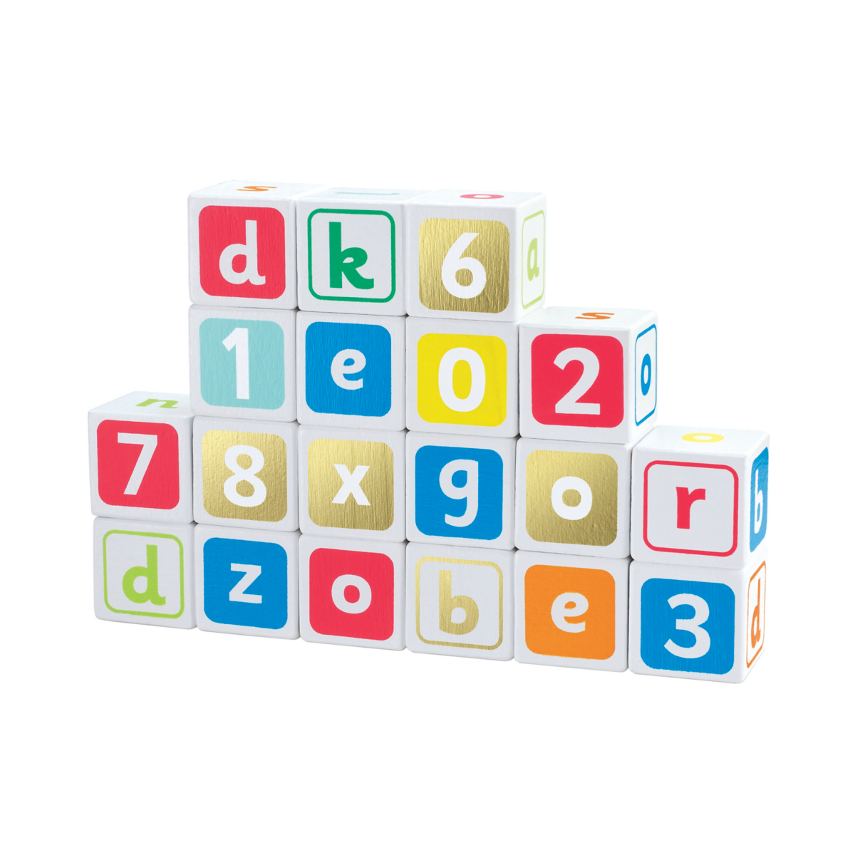 Early Learning Centre Wooden Alphabet Blocks from Early Learning Center