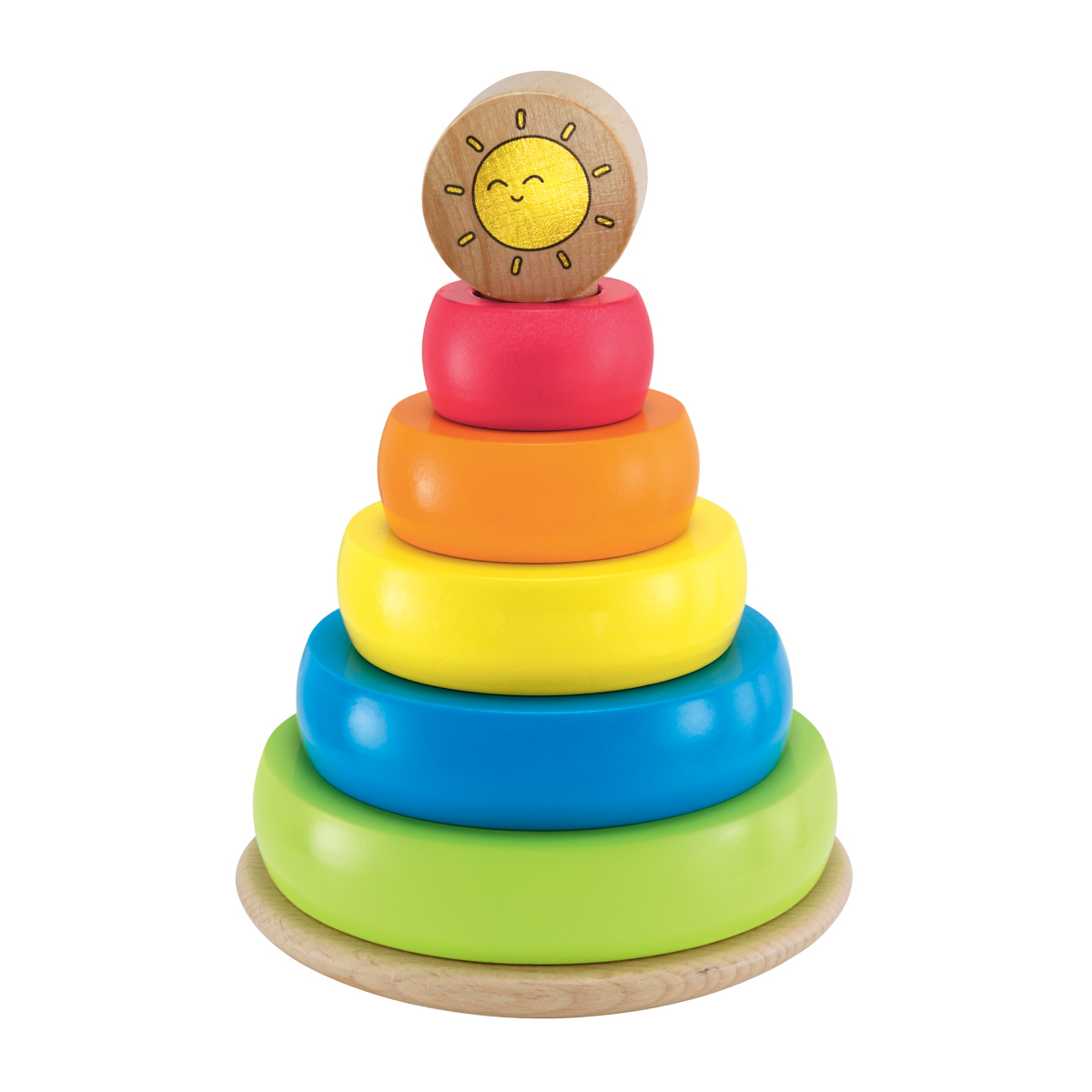 Early Learning Centre Wooden Stacking Rings from Early Learning Center