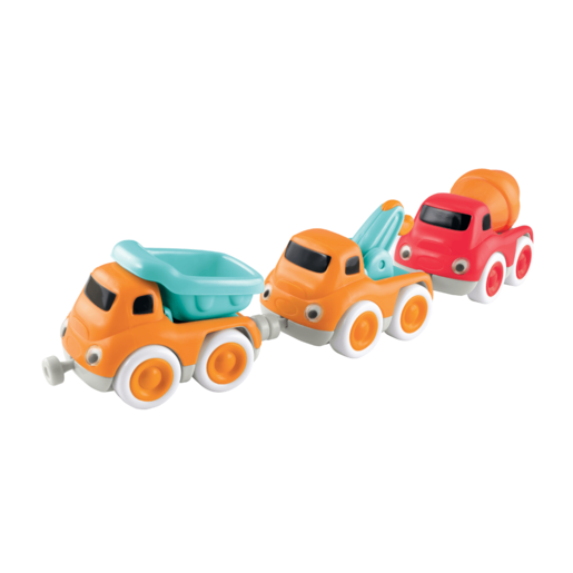 Whizz World Construction Vehicle Magnetic Trio SetWhizz World