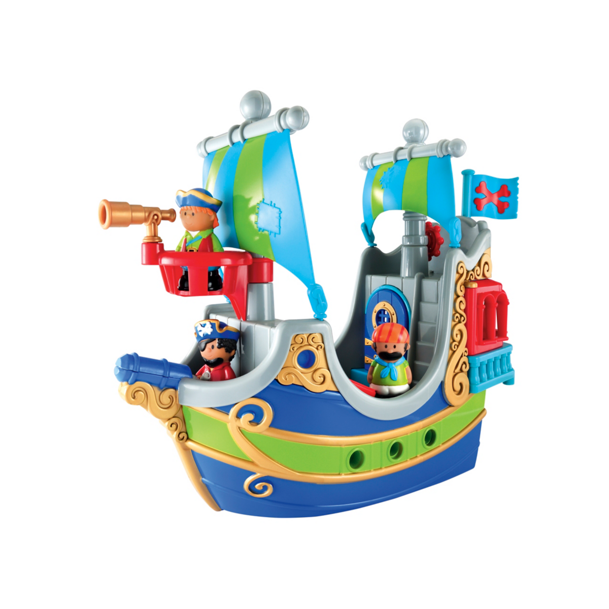 Happyland Pirate Ship from Early Learning Center