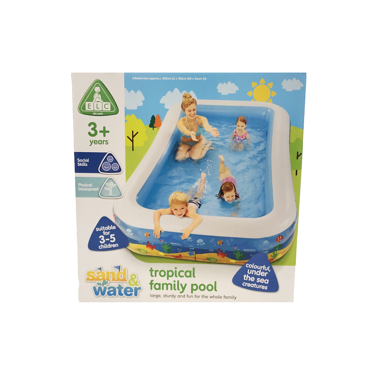 Early Learning Centre Tropical Family Pool from Early Learning Center