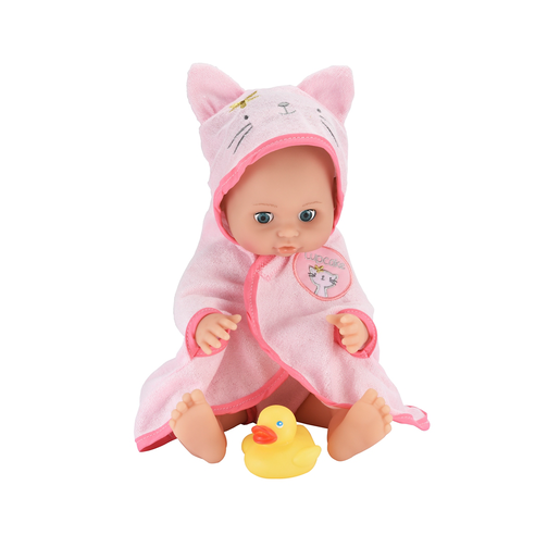 Cupcake Bath Time Bea 30cm Doll (Kitten Ears)