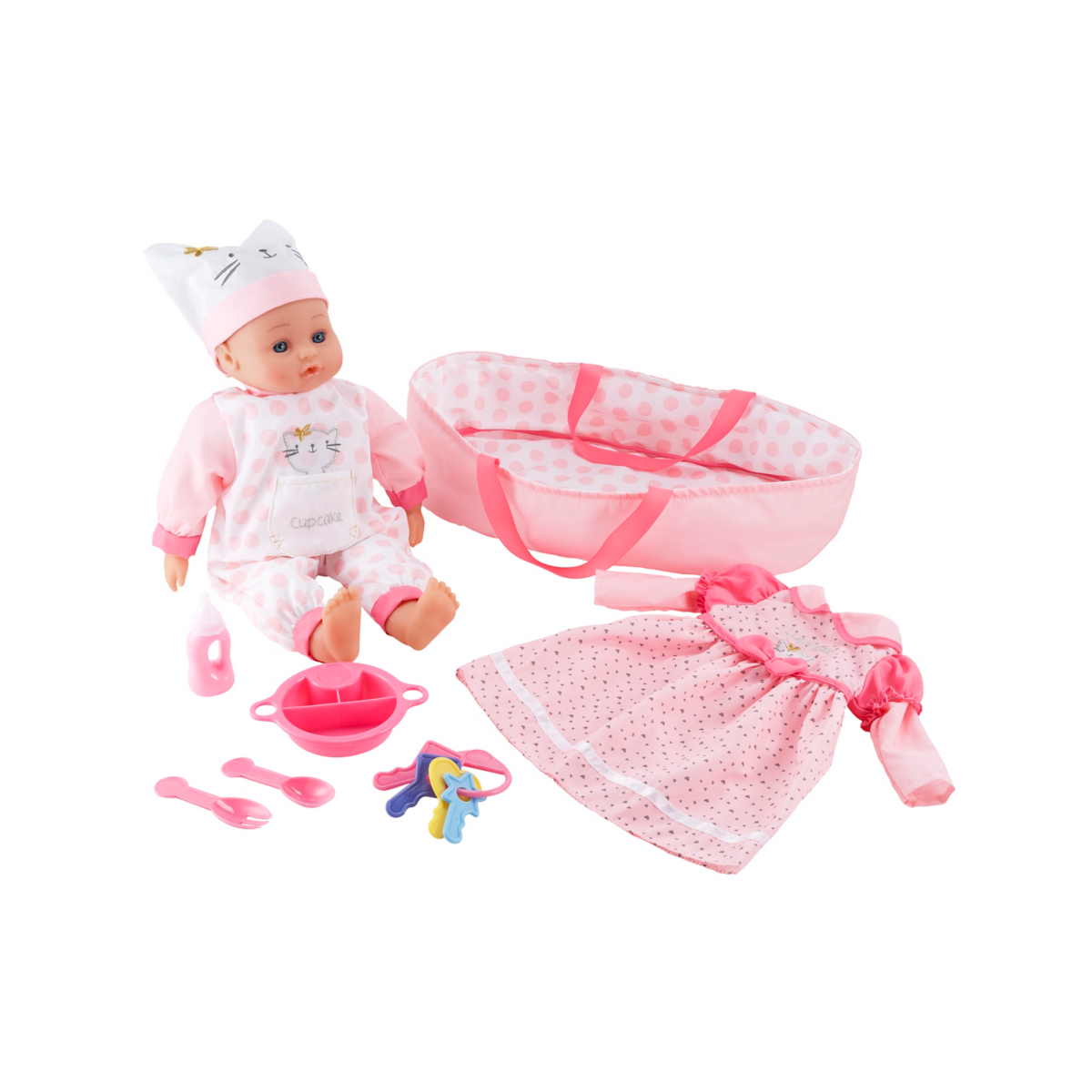 Cupcake Dolly Collection Set