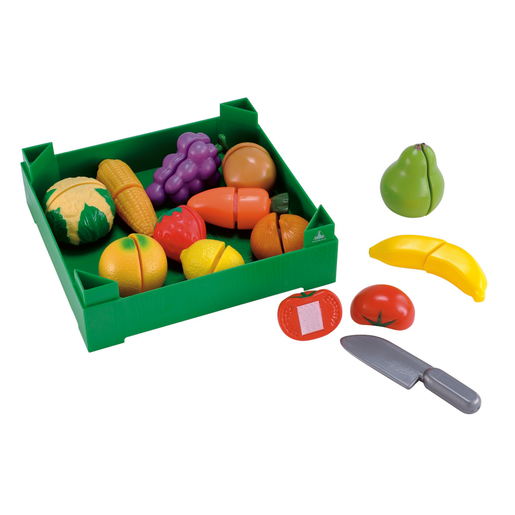 Early Learning Centre Crate of Cut-and-Play Fruit and Vegetables