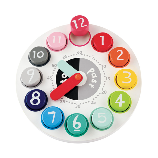 Early Learning Centre Wooden Teaching Clock