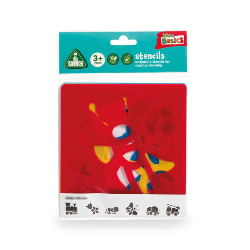 Early Learning Centre Stencils 6 Pack
