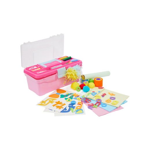 Early Learning Centre Collage Toolbox - Pink
