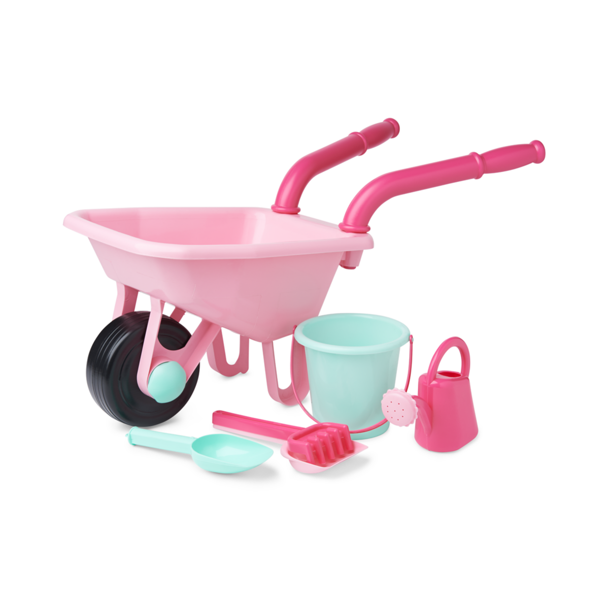 Early Learning Centre Wheelbarrow Set - Pink