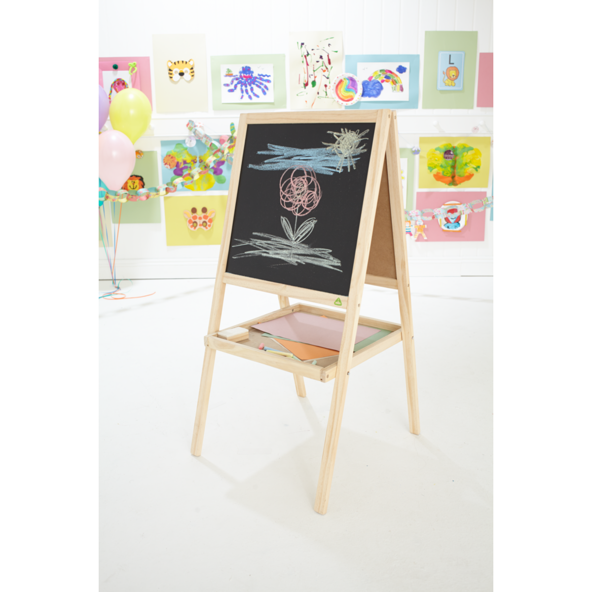 Early Learning Centre Double Sided Wooden Easel from Early Learning Center