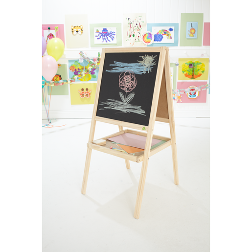 Early Learning Centre Double Sided Wooden Easel