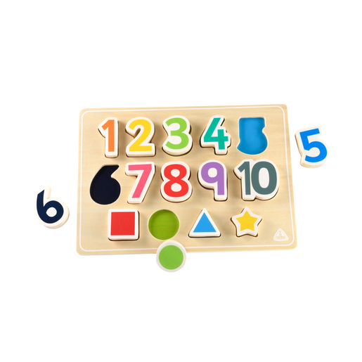 Early Learning Centre Shape And Number Puzzle