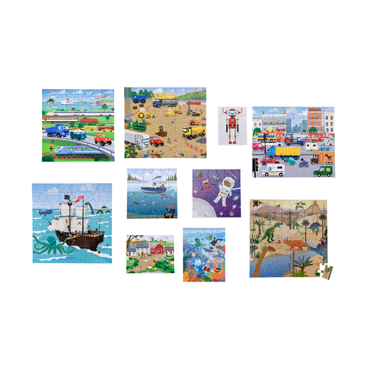 Early Learning Centre 10-in-1 Action and Adventure Puzzles