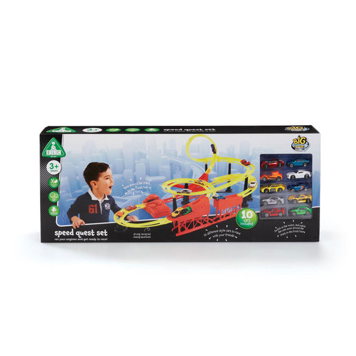 Big City Speed Quest Playset