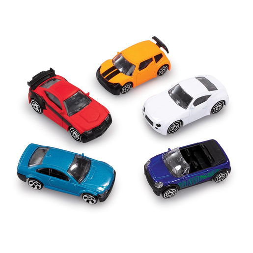 Big City 5 Pack Cars - Cars
