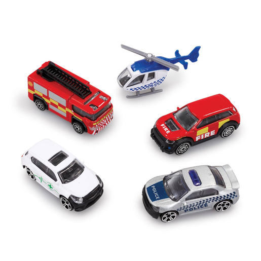 Big City 5 Pack Cars - Emergency