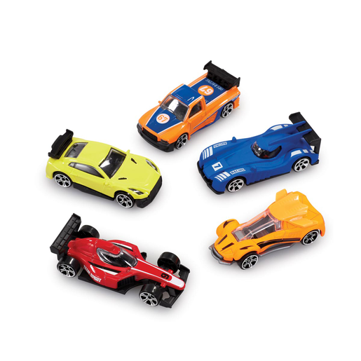Big City 5 Pack Cars - Racing Cars