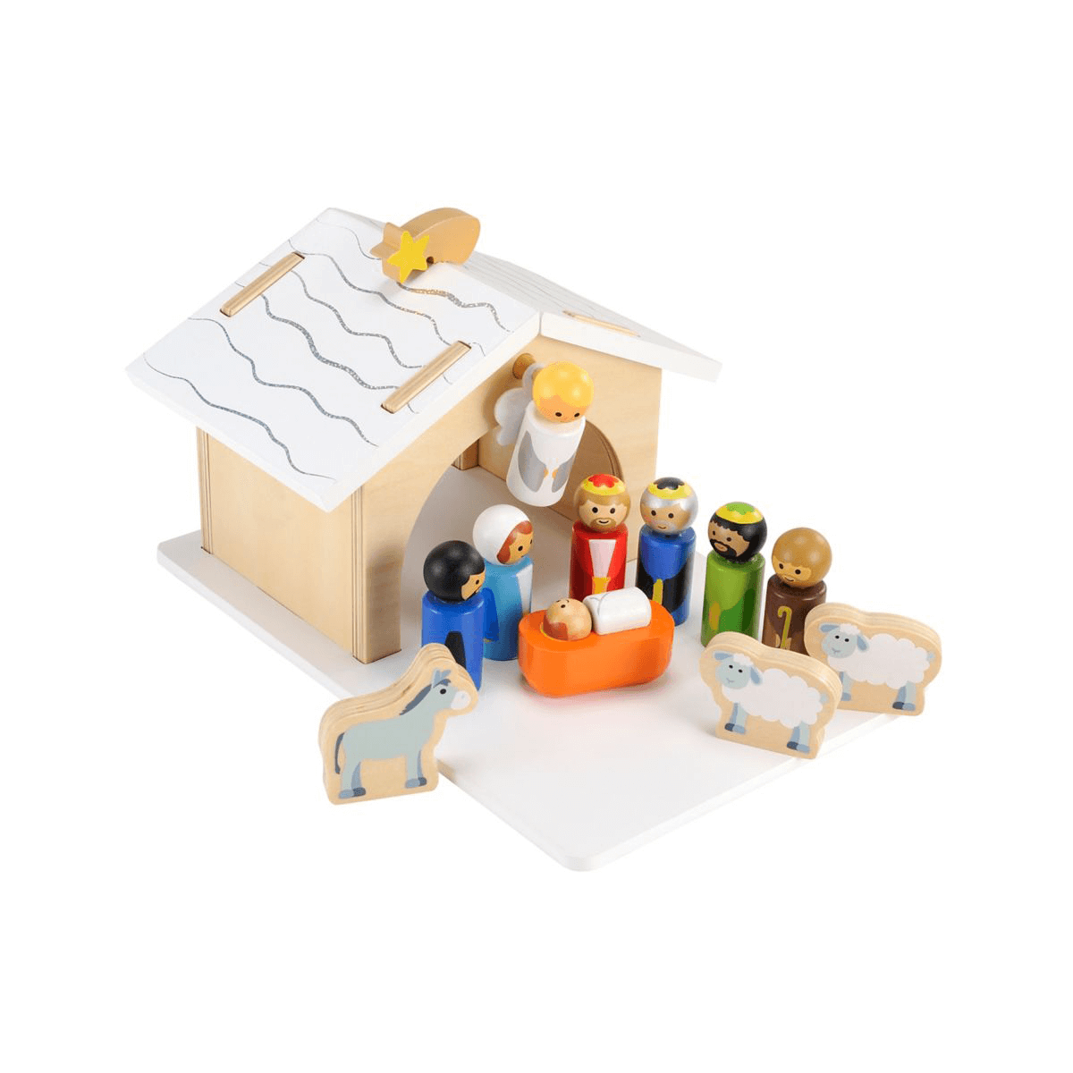 Early Learning Centre Wooden Nativity Set