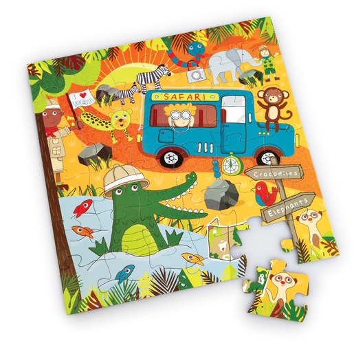 Early Learning Centre 36 Piece Safari Zoo Puzzle