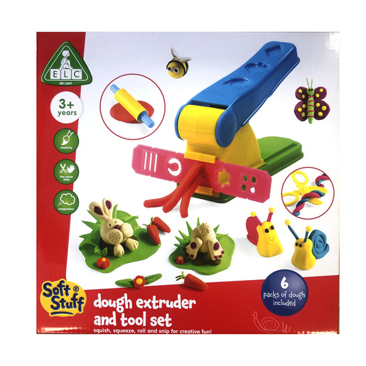 Early Learning Centre Soft Stuff Dough Extruder and Tool Set