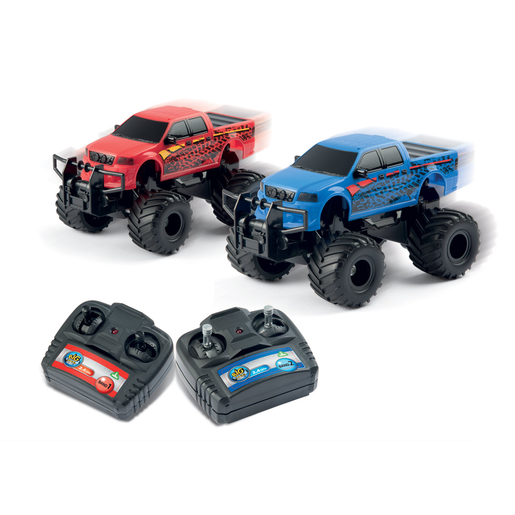 Big City Remote Controlled Monster Trucks