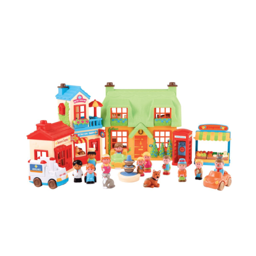 Happyland Bumper Village Set