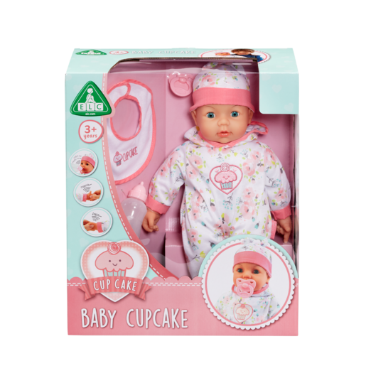 Baby Cupcake 44cm Doll
