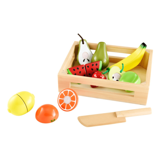 Early Learning Centre Wooden Fruit Crate