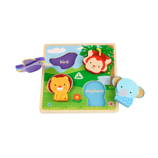 Early Learning Centre Wooden Jungle Animals Puzzle