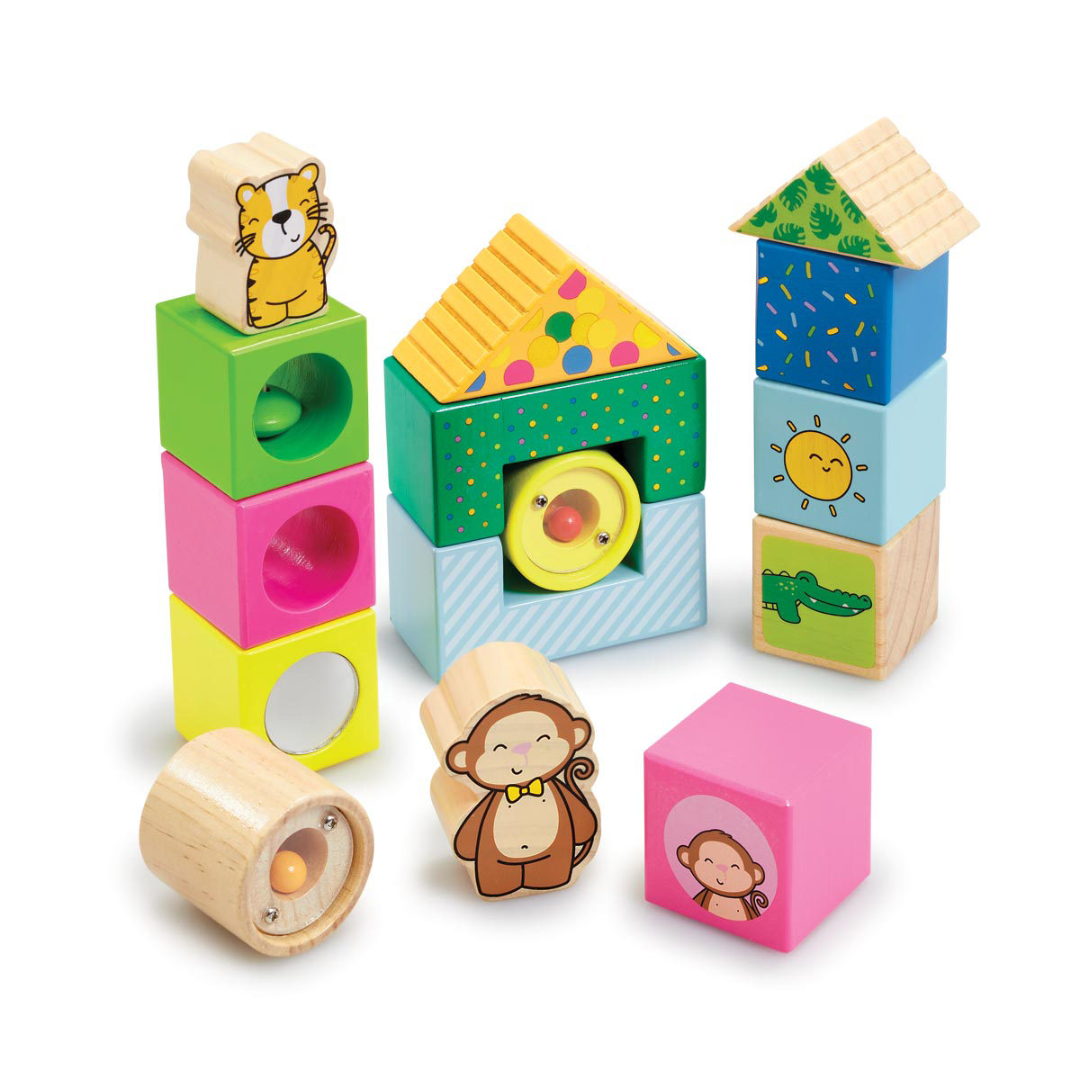 Early Learning Centre Wooden Activity Blocks