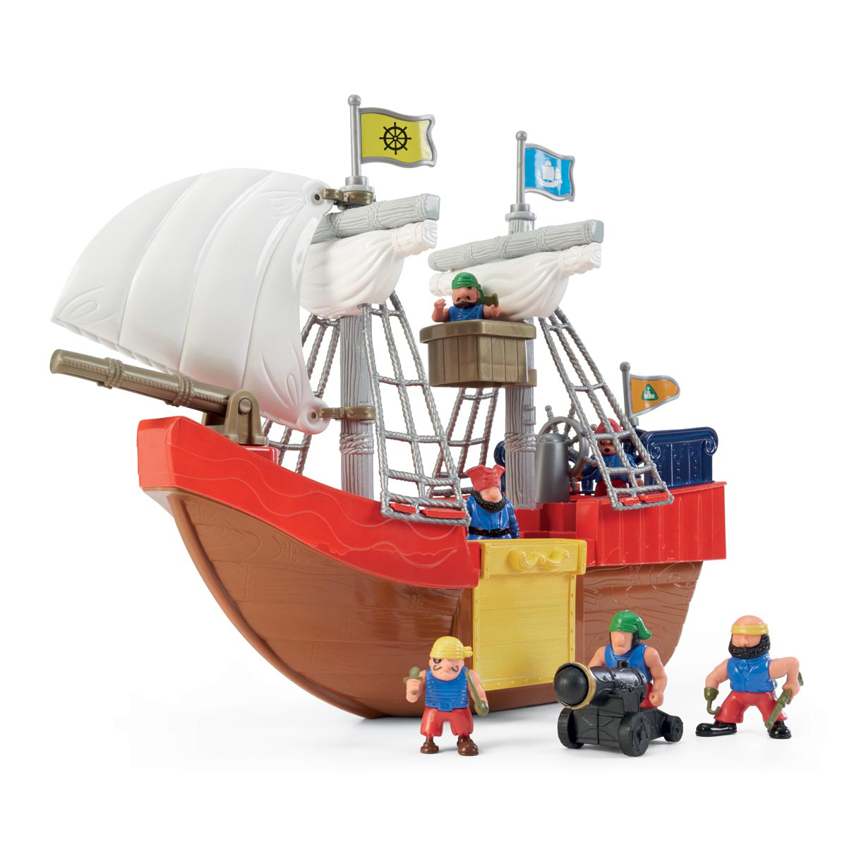 Early Learning Centre Pirate Figure and Ship from Early Learning Center