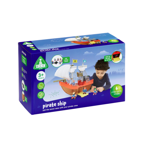 Early Learning Centre Pirate Figure and Ship