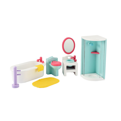 Rosebud Splash Bathroom Set