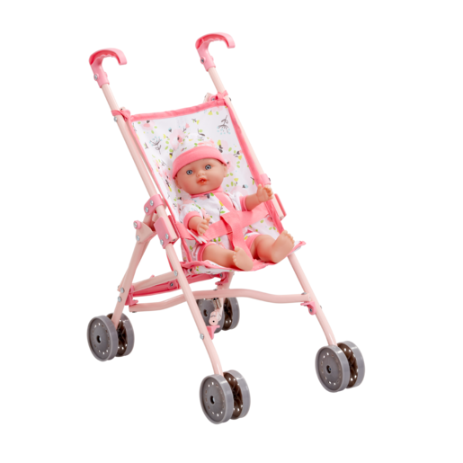 Cupcake Stroller and Doll