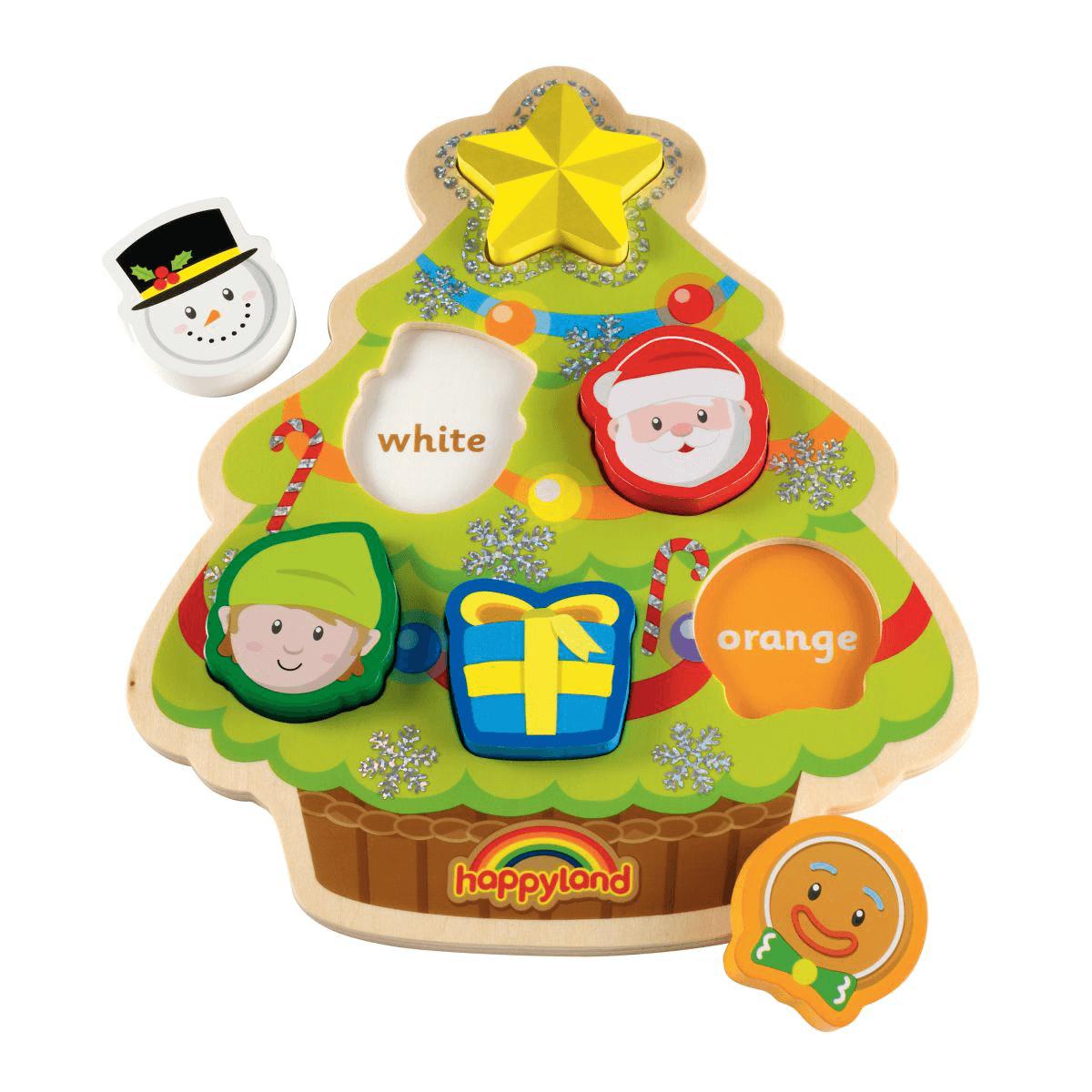 Happyland Wooden Christmas Puzzle