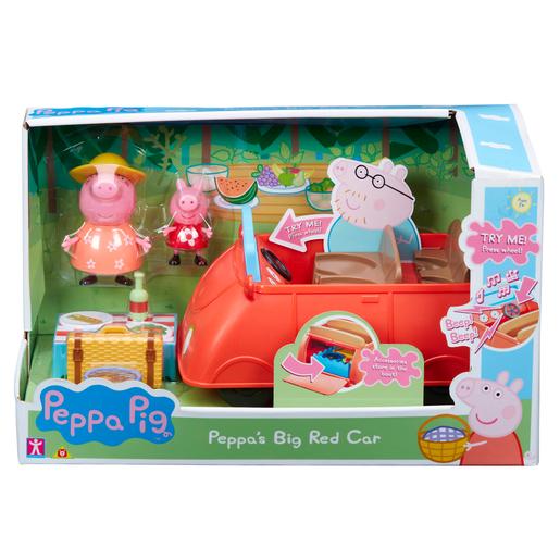 Peppa Pig - Peppa's Big Red Car