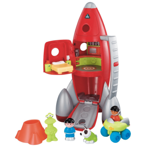 Happyland Lift-Off Rocket