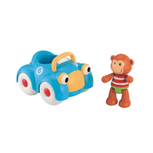 Early Learning Centre Toybox Monty Monkey and His Motor Car